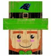 "Carolina Panthers 6"" x 5"" Leprechaun Head"