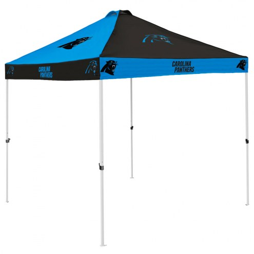 Carolina Panthers 9' x 9' Checkerboard Tailgate Canopy Tent