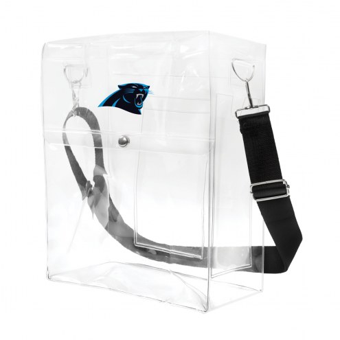 Carolina Panthers Clear Ticket Satchel