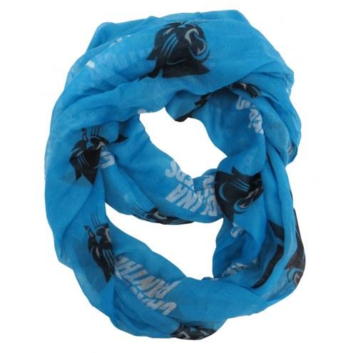 Carolina Panthers Alternate Sheer Infinity Scarf