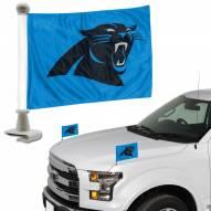 Carolina Panthers Ambassador Hood & Trunk Car Flag