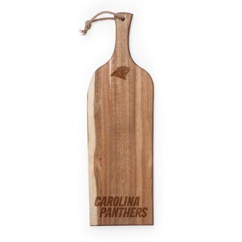 """Carolina Panthers Artisan 24"""" Acacia Serving Plank"""