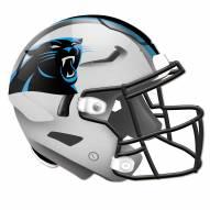 Carolina Panthers Authentic Helmet Cutout Sign
