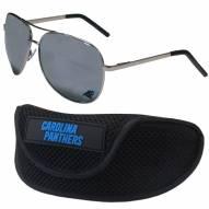Carolina Panthers Aviator Sunglasses and Sports Case