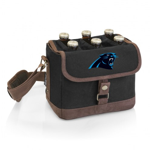 Carolina Panthers Beer Caddy Cooler Tote with Opener
