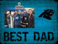 Carolina Panthers Best Dad Clip Frame