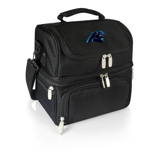 Carolina Panthers Black Pranzo Insulated Lunch Box