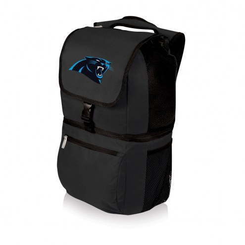 Carolina Panthers Black Zuma Cooler Backpack
