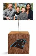 Carolina Panthers Block Spiral Photo Holder