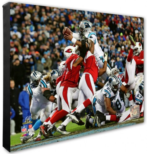 Carolina Panthers Cam Newton 2015 NFC Championship Game Photo