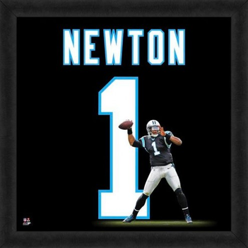 Carolina Panthers Cam Newton Uniframe Framed Jersey Photo