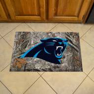 Carolina Panthers Camo Scraper Door Mat