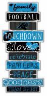 Carolina Panthers Celebrations Stack Sign