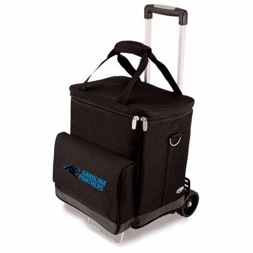 Carolina Panthers Cellar Cooler with Trolley