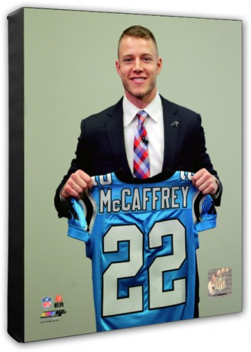 Carolina Panthers Christian McCaffrey 2017 NFL Draft Photo