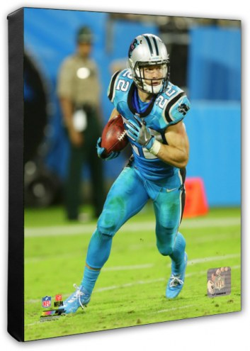 Carolina Panthers Christian McCaffrey Action Photo