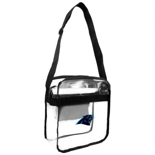 Carolina Panthers Clear Crossbody Carry-All Bag
