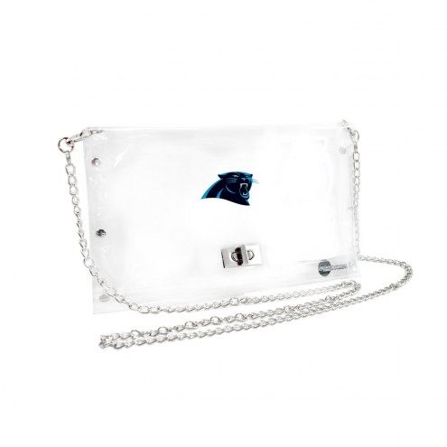 Carolina Panthers Clear Envelope Purse