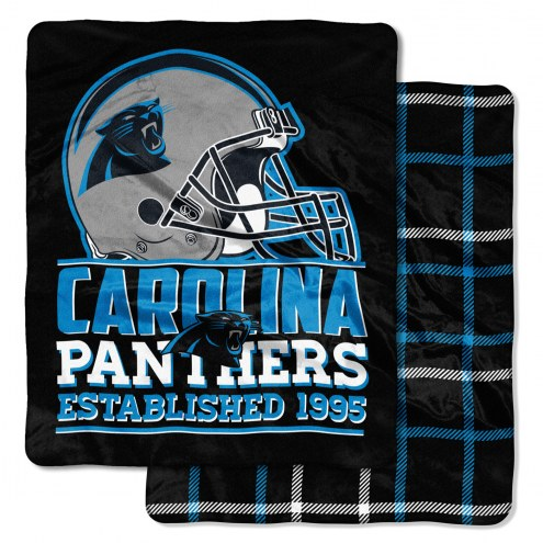Carolina Panthers Cloud Throw Blanket