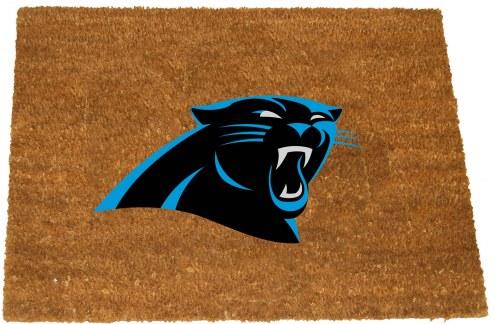 Carolina Panthers Colored Logo Door Mat