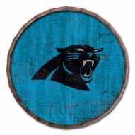 """Carolina Panthers Cracked Color 16"""" Barrel Top"""