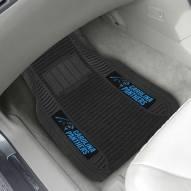 Carolina Panthers Deluxe Car Floor Mat Set
