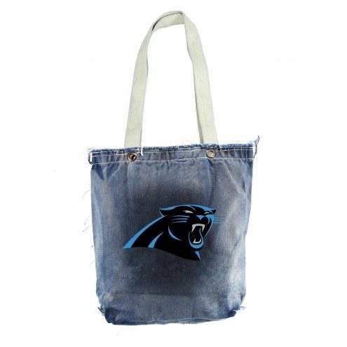 Carolina Panthers Denim NFL Vintage Shopper
