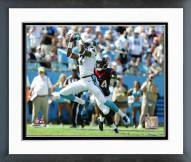 Carolina Panthers Devin Funchess 2015 Action Framed Photo
