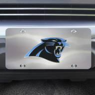 Carolina Panthers Diecast License Plate