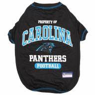 Carolina Panthers Dog Tee Shirt