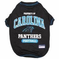 Carolina Panthers Dog Tee Shirt