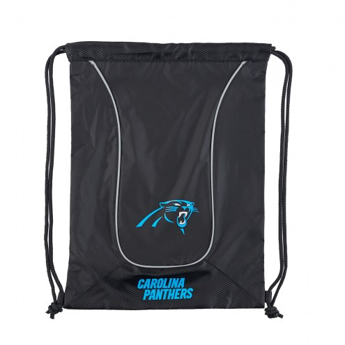 Carolina Panthers Doubleheader Drawstring Bag