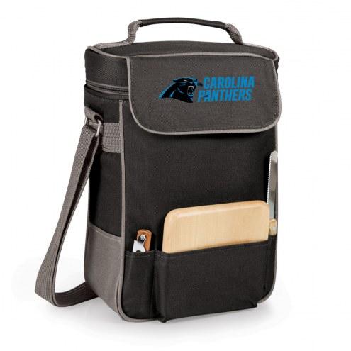 Carolina Panthers Duet Insulated Wine Bag