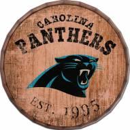 "Carolina Panthers Established Date 24"" Barrel Top"