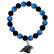 Carolina Panthers Fan Bead Bracelet