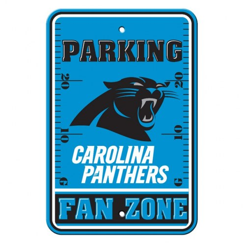 Carolina Panthers Fan Zone Parking Sign