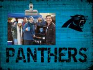 Carolina Panthers Wood Clip Frame