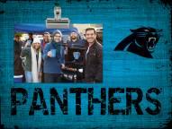Carolina Panthers Wood Clip Frame