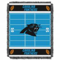Carolina Panthers Field Baby Blanket
