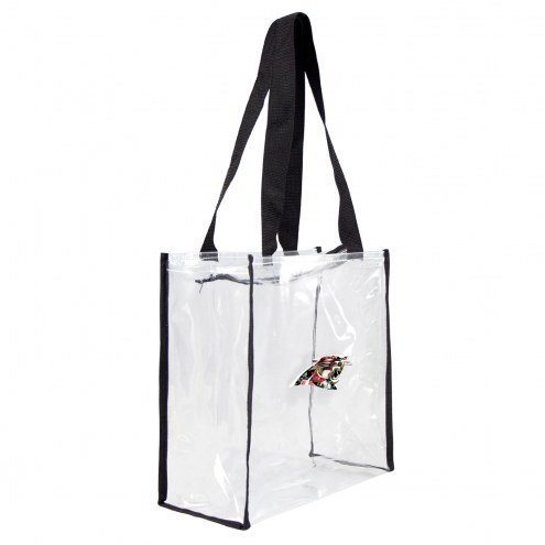 Carolina Panthers Floral Clear Square Stadium Tote