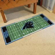Carolina Panthers Football Field Runner Rug