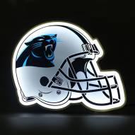 Carolina Panthers Football Helmet LED Lamp