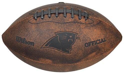 Carolina Panthers Vintage Throwback Football