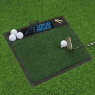 Carolina Panthers Golf Hitting Mat