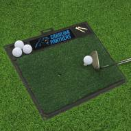 Carolina Panthers Golf Hitting Mat
