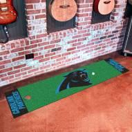 Carolina Panthers Golf Putting Green Mat