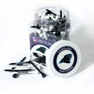 Carolina Panthers 175 Golf Tee Jar