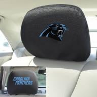 Carolina Panthers Headrest Covers