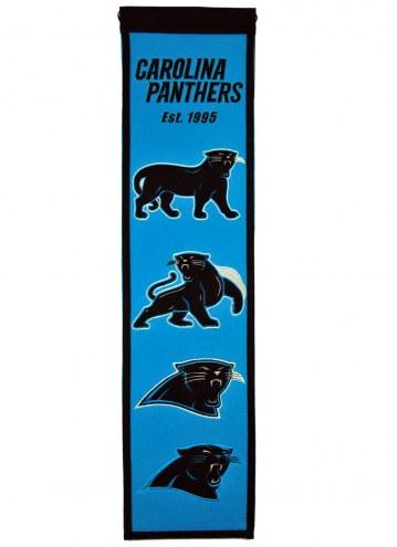 Carolina Panthers Heritage Banner