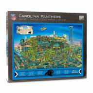 Carolina Panthers Joe Journeyman Puzzle